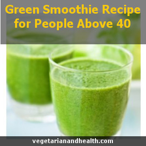 Green Smoothie Recipe for People Above 40