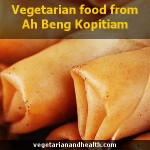 Vegetarian food from Ah Beng Kopitiam