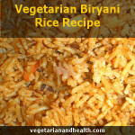 Vegetarian Biryani Rice Recipe